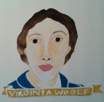 Talent Loves Company at Barbara Archer Gallery: 365 portraits by Lydia Walls - Virginia Woolf