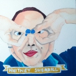 Talent Loves Company at Barbara Archer Gallery: 365 portraits by Lydia Walls - Whitney Sherril