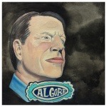 100 Southerners portraits by Lydia Walls: Al Gore
