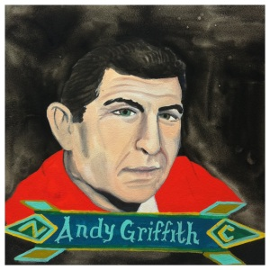 100 Southerners portraits by Lydia Walls: Andy Griffith