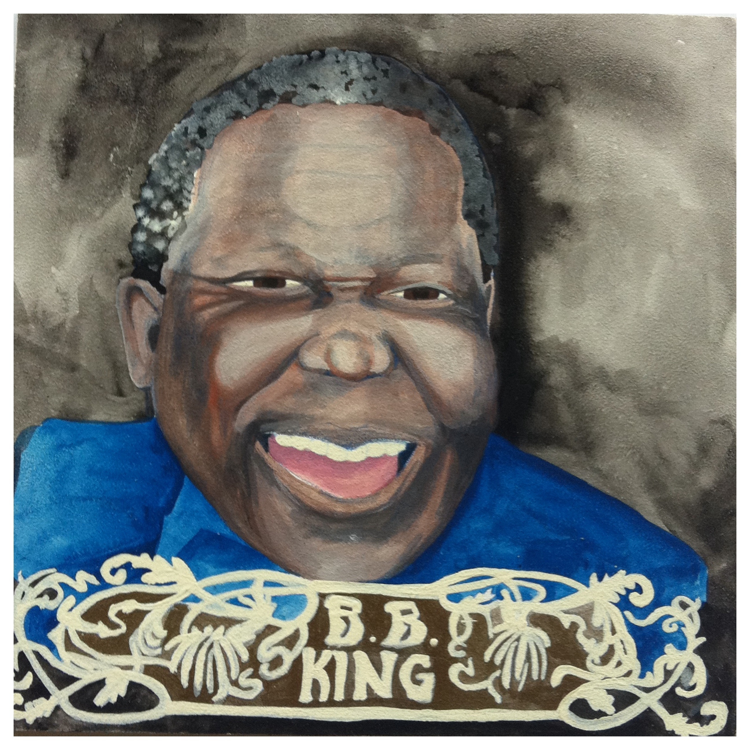 100 Southerners portraits by Lydia Walls: BB King