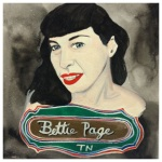 100 Southerners portraits by Lydia Walls: Bettie Page