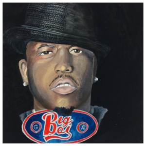 100 Southerners portraits by Lydia Walls: Big Boi