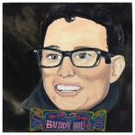 100 Southerners portraits by Lydia Walls: Buddy Holly