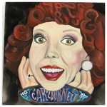 100 Southerners portraits by Lydia Walls: Carol Burnett