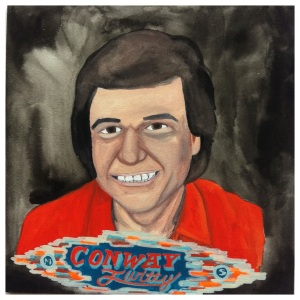 100 Southerners portraits by Lydia Walls: Conway Twitty