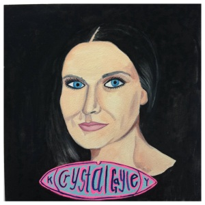 100 Southerners portraits by Lydia Walls: Crystal Gayle