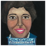 100 Southerners portraits by Lydia Walls: Daisy Bates