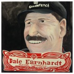 100 Southerners portraits by Lydia Walls: Dale Earnhardt