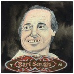 100 Southerners portraits by Lydia Walls: Earl Scruggs