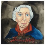 100 Southerners portraits by Lydia Walls: Eudora Welty