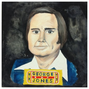 100 Southerners portraits by Lydia Walls: George Jones