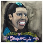 100 Southerners portraits by Lydia Walls: Gladys Knight