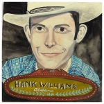 100 Southerners portraits by Lydia Walls: Hank Williams