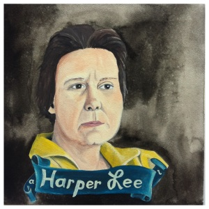 100 Southerners portraits by Lydia Walls: Harper Lee