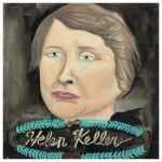100 Southerners portraits by Lydia Walls: Helen Keller