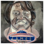 100 Southerners portraits by Lydia Walls: James Brown