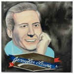 100 Southerners portraits by Lydia Walls: Jerry Lee Lewis