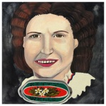 100 Southerners portraits by Lydia Walls: Kitty Wells