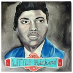100 Southerners portraits by Lydia Walls: Little Richard