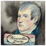 100 Southerners portraits by Lydia Walls: Meriwether Lewis