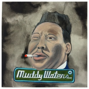 100 Southerners portraits by Lydia Walls: Muddy Waters