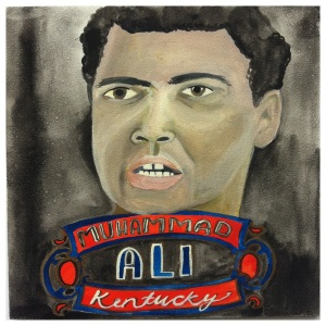 100 Southerners portraits by Lydia Walls: Muhammad Ali