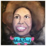 100 Southerners portraits by Lydia Walls: Roberta Flack