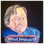 100 Southerners portraits by Lydia Walls: Robert Rauschenberg