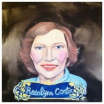100 Southerners portraits by Lydia Walls: Rosalynn Carter