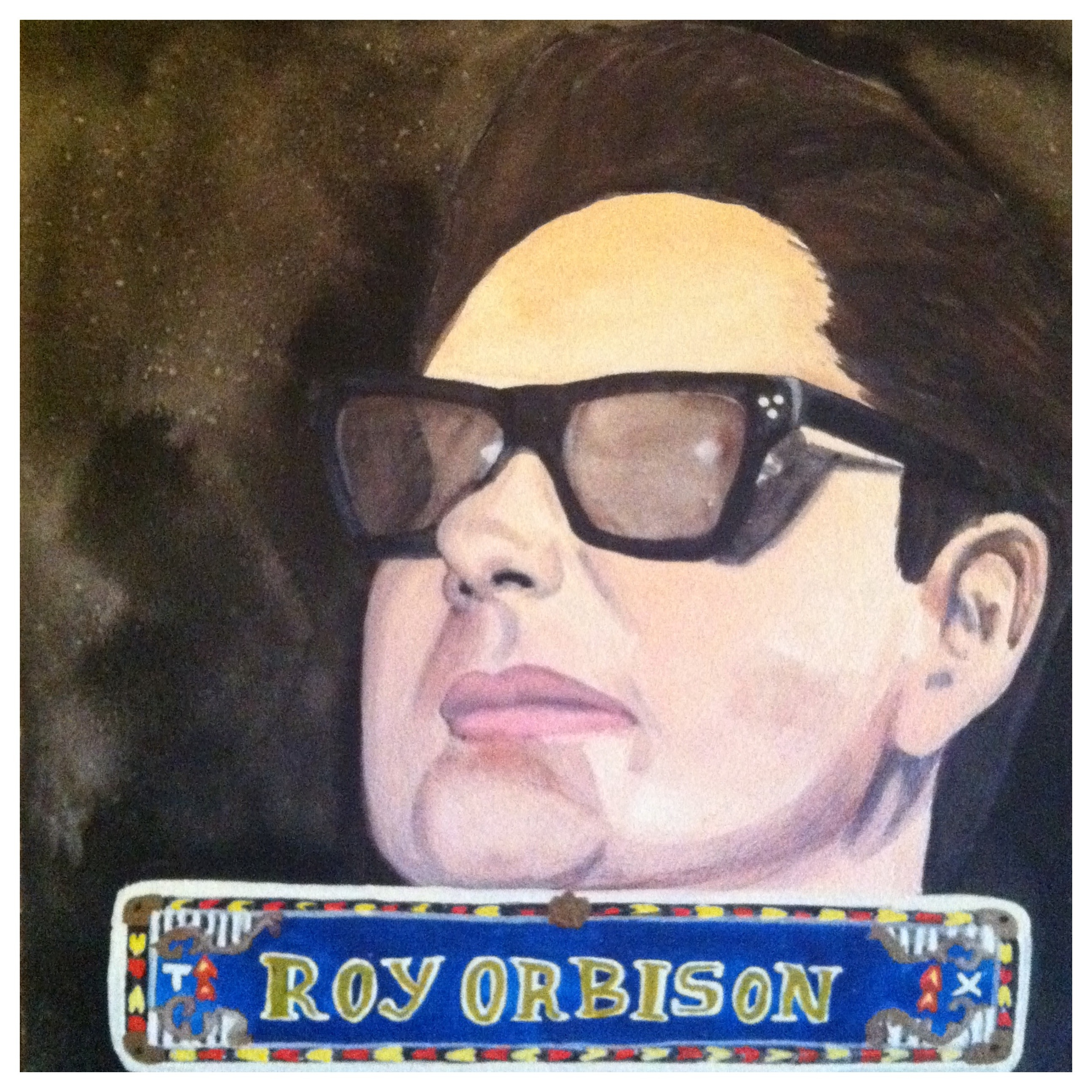 100 Southerners portraits by Lydia Walls: Roy Orbison