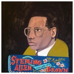 100 Southerners portraits by Lydia Walls: Sterling Allen Brown