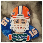 100 Southerners portraits by Lydia Walls: Tim Tebow