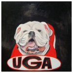 100 Southerners portraits by Lydia Walls: Uga