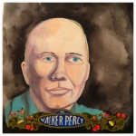 100 Southerners portraits by Lydia Walls: Walker Percy