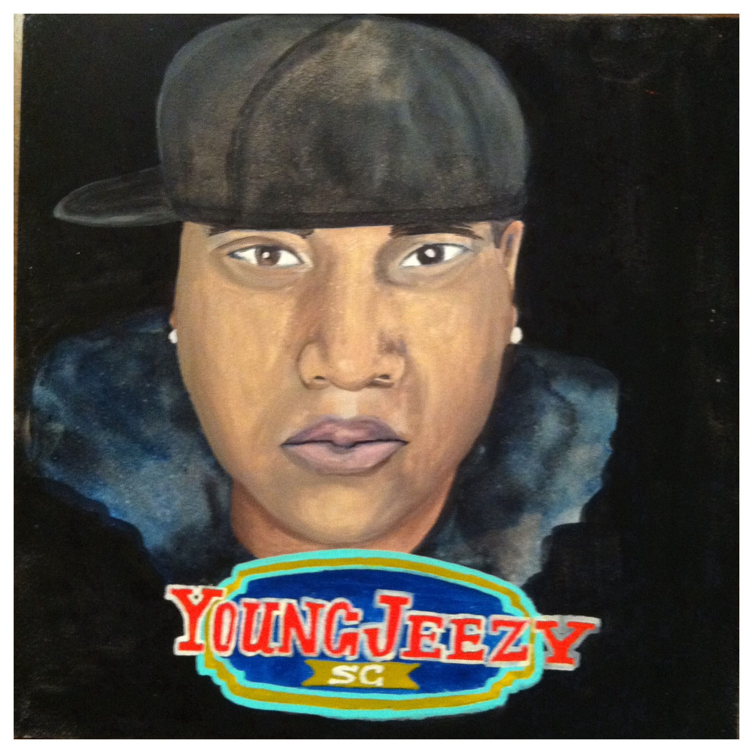 100 Southerners portraits by Lydia Walls: Young Jeezy
