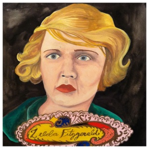100 Southerners portraits by Lydia Walls: Zelda Fitzgerland