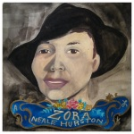 100 Southerners portraits by Lydia Walls: Zora Neale Hurston