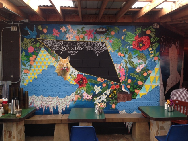 mural by Lydia Walls