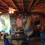 Mural at Ria's Bluebird by Lydia Walls