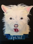 custom pet portrait by Lydia Walls