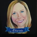 custom grownup portrait by Lydia Walls