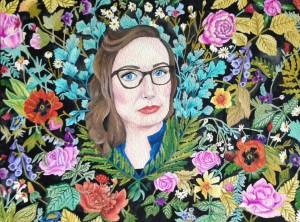 custom self portrait by Lydia Walls