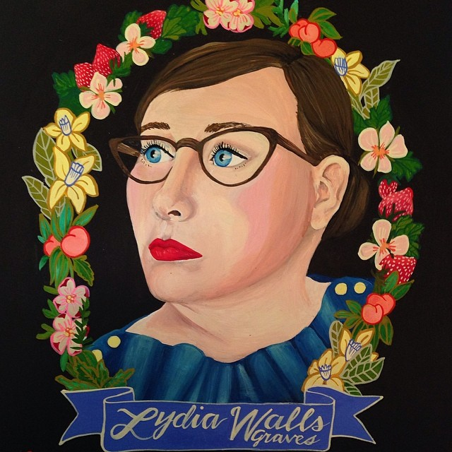 custom self portrait by Lydia Walls
